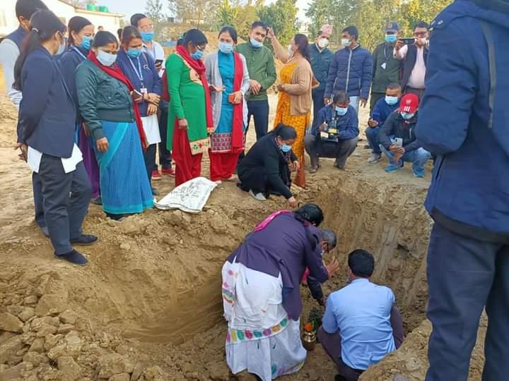 काेहलपुरमा बन्ने भयाे १५ शैयाको सरकारी अस्पताल